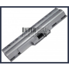 Sony VAIO VGN-CS17H/Q 4400 mAh 6 cella ezüst notebook/laptop akku/akkumulátor utángyártott