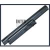Sony VPC-EA25FG/L  4400 mAh 6 cella fekete notebook/laptop akku/akkumulátor utángyártott