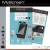 Sony Xperia XZ1 Compact, Kijelzővédő fólia, ütésálló fólia (az íves részre is!), MyScreen Protector, Diamond Glass (Edzett gyémántüveg), fekete