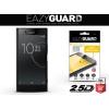 Sony Xperia XZ Premium, Kijelzővédő fólia (az íves részre is), Eazy Guard, Diamond Glass (Edzett gyémántüveg), fekete
