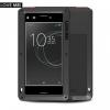 Sony Xperia XZ Premium, TPU szilikon tok, Love Mei Defender, ütésálló, fekete