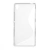 Sony Xperia Z3, TPU szilikon tok, S-Line, füst