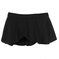 SoulCal fürdőruha szoknya - SoulCal Ruffle Swim Skirt Ladies Black