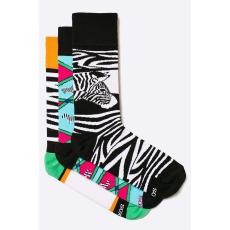 Soxy - Zokni Zebras (3 darab) - többszínű