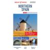 Spanyolország északi része laminált térkép - Insight