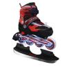 Spartan 2 in 1 gör- és jégkorcsolya, piros-fekete, állítható SPARTAN