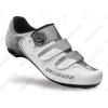 Specialized Comp Road országúti kerékpáros cipő 42-es BOA fűzőrendszerrel, fehér/titán