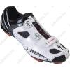 Specialized S-Works MTB kerékpáros cipő 45-ös BOA fűzőrendszerrel, fehér/fekete
