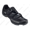 Specialized Sport MTB kerékpáros cipő 47-es 3 tépőzáras, fekete/fényes fekete