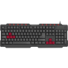 Speedlink SL-670000-BK-HU FERUS Gaming billentyűzet, fekete, magyar kiosztás (SL-670000-BK_HU)