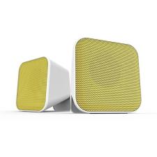 Speedlink SL-810002-WEYW SNAPPY hangszóró, fehér-sárga hangszóró
