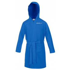Speedo Bathrobe Microfiber Junior Blue 4