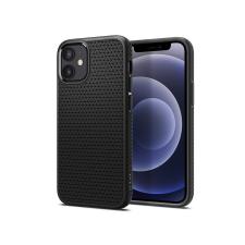 Spigen Apple iPhone 12 Mini ütésálló hátlap - Spigen Liquid Air - fekete tok és táska