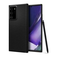 Spigen Liquid Air Samsung Galaxy Note 20 Ultra Matte Black tok, fekete tok és táska