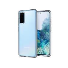 Spigen Samsung G980F Galaxy S20 ütésálló hátlap - Spigen Liquid Crystal - átlátszó tok és táska