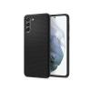 Spigen Samsung G990F Galaxy S21 ütésálló hátlap - Spigen Liquid Air - fekete