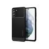 Spigen Samsung G990F Galaxy S21 ütésálló hátlap - Spigen Rugged Armor - fekete