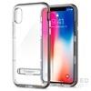 Spigen SGP Crystal Hybrid Apple iPhone X Gunmetal hátlap tok