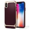 Spigen SGP Neo Hybrid Apple iPhone X Burgundy hátlap tok