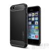 Spigen SGP Rugged Armor Apple iPhone SE/5s/5 Black hátlap tok