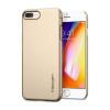 Spigen Thin Fit Apple iPhone 8 Plus/7 Plus Champagne Gold hátlap tok