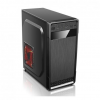 Spire PC case Spire SUPREME 1614; black; PSU 420W