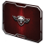 Spirit of Gamer Winged Skull piros