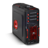 Spirit of Gamer X FIGHTER 51 Számítógépház, Piros (8616R30)