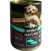 Spirit Of Nature Dog Konzerv Tonhallal és Lazaccal 415g