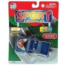 Sportautó autópálya és játékautó