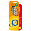 STABILO EasyColors színes ceruza készlet, háromszögletű, balkezes, 6 szín