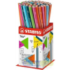"""STABILO Grafitceruza display, 2B, háromszögletû, STABILO """"Trio"""""""