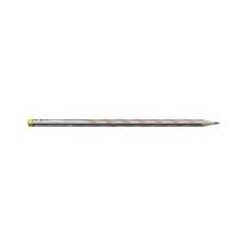 """STABILO Grafitceruza, HB, háromszögletű, vékony, balkezes, STABILO, """"EASYgraph"""", ezüst ceruza"""