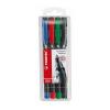 """STABILO """"OHPen M"""" 1 mm 4 különböző szín alkoholos marker készlet"""