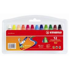 STABILO Olajpasztell kréta, , 12 különböző szín kréta