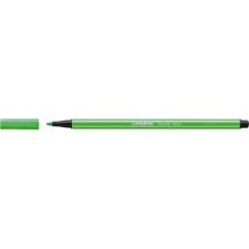 "STABILO Rostirón, 1 mm, STABILO ""Pen 68"", neon zöld filctoll, marker"