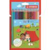 """STABILO Színes ceruza készlet, háromszögletû, STABILO """"Trio"""", 18 különbözõ szín"""
