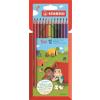 """STABILO Színes ceruza készlet, háromszögletű, STABILO """"Trio"""", 12 különböző szín"""