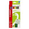 """STABILO Színes ceruza készlet, hatszögletű,  """"GreenColors"""", 12 szín"""