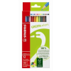 """STABILO Színes ceruza készlet, hatszögletű, STABILO """"GreenColors"""", 12 szín"""