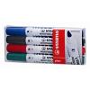 STABILO Táblamarker készlet, 2,5-3,5 mm, vágott, STABILO