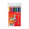 STABILO Trio 12 színű vastag ceruzakészlet