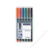 STAEDTLER Alkoholos marker, 0,8-1 mm,  317, 6 különböző szín (TS317WP6)