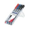 """STAEDTLER Alkoholos marker készlet, OHP, 1 mm, STAEDTLER """"L"""