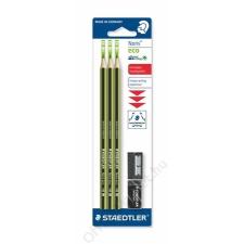 """STAEDTLER Grafitceruza, HB, hatszögletű, hegyezővel és radírral, STAEDTLER """"Noris Eco"""" (TS18030SB) ceruza"""
