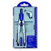 STAEDTLER Körző készlet, precíziós, 3 darabos, STAEDTLER Noris Club (TS55001)