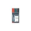 """STAEDTLER """"Lumocolor 313 S"""" OHP 0,4 mm 6 különböző szín alkoholos marker készlet"""