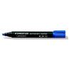 """STAEDTLER """"Lumocolor 350"""" 2-5 mm vágott kék alkoholos marker"""