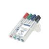 """STAEDTLER """"Lumocolor 351 B"""" 2-5 mm vágott 4 különböző színű táblamarker készlet"""