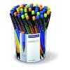 "STAEDTLER Nyomósirón display, 0,5 mm,  ""Graphite 777"", vegyes színek"
